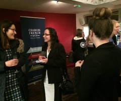 Charles French & Co at Women in Property networking launch event in Cornwall at Kazbar, Truro.